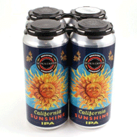 sunshine IPA cans